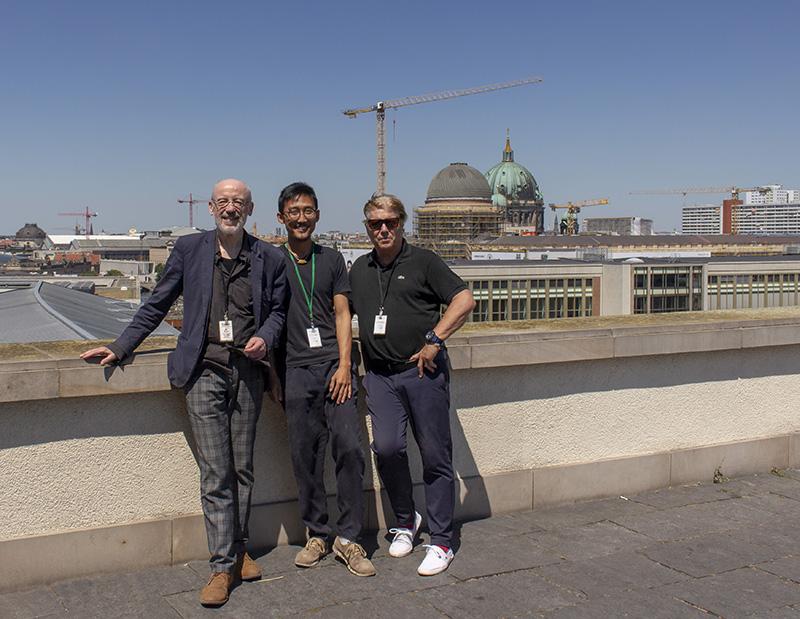 Wolfgang Köppe, Walter Yu, Andre Lindhorst