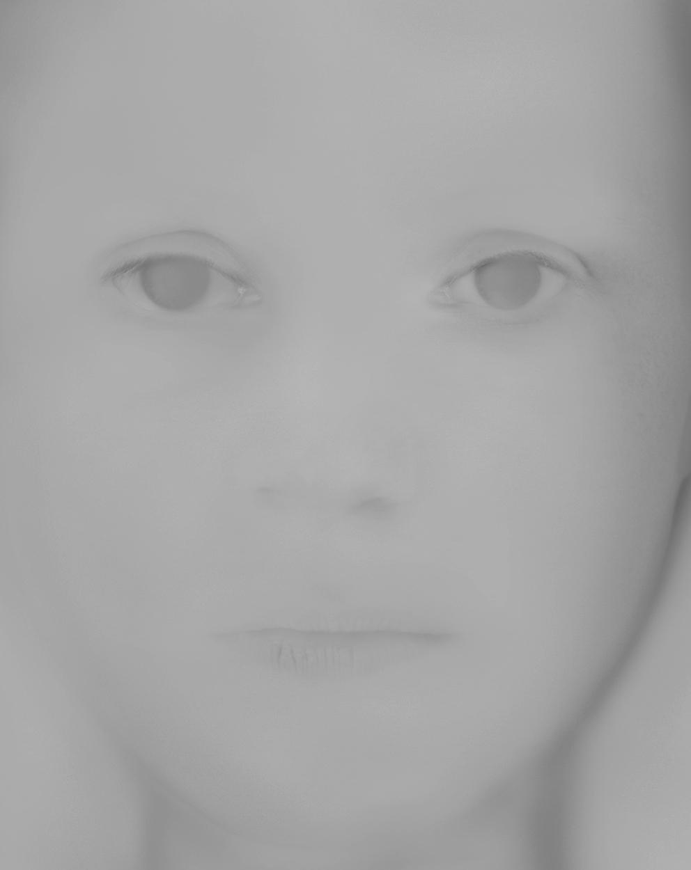 Yotta Kippe | 0906, 125 x 100 cm, Ilfojet print on metal foil / aludibond, graphite