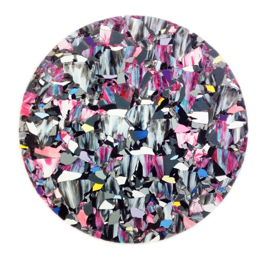 Willi Tomes | Quelle, 2018, Vinyl auf Holzplatte