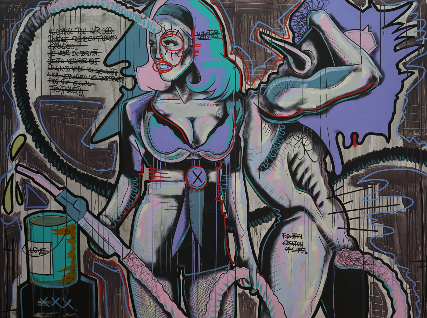 Daniel Harms - Das Monster, 180 x 240 cmjpg
