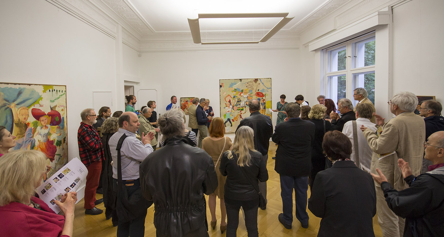 Bodo Rott – Vernissage 2016 Köppe Contemporary