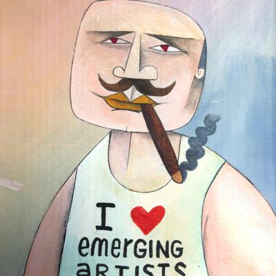 Emerging Artist, 2020, 37 x 29 cm
