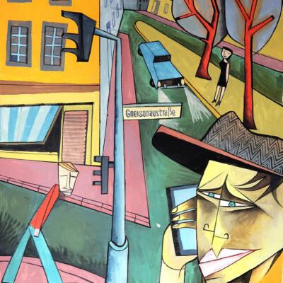 Streetcorners, 2020, 158 x 115 cm