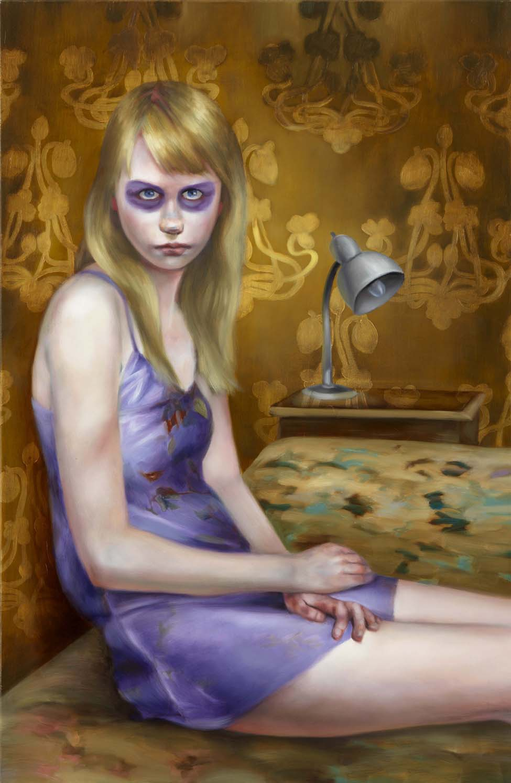Simone Haack | Veilchen, 2013, 130 x 90 cm