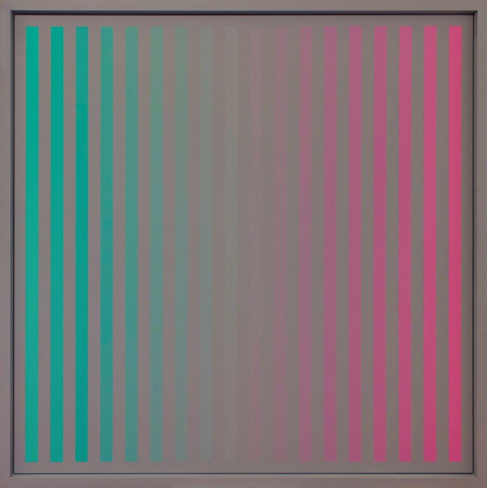 Christian Roeckenschuss | K370 – 140 x 140 cm, Alkydharzfarbe auf Phenapan
