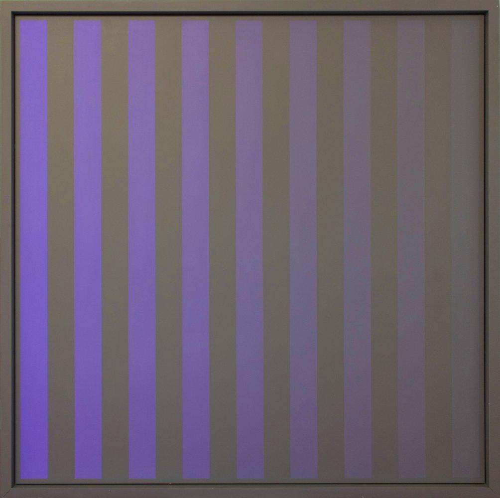 Christian Roeckenschuss | K371 – 140 x 140 cm, Alkydharzfarbe auf Phenapan