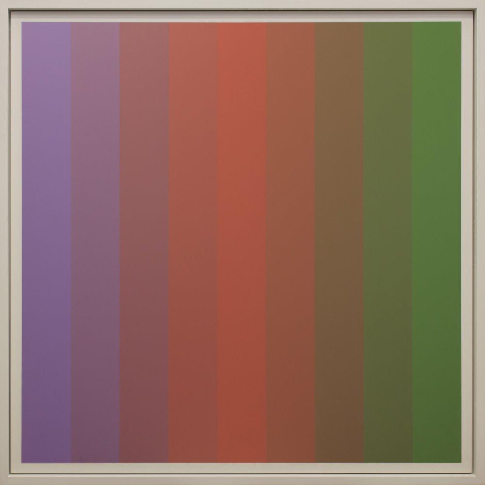Christian Roeckenschuss | K375 – 140 x 140 cm, Alkydharzfarbe auf Phenapan