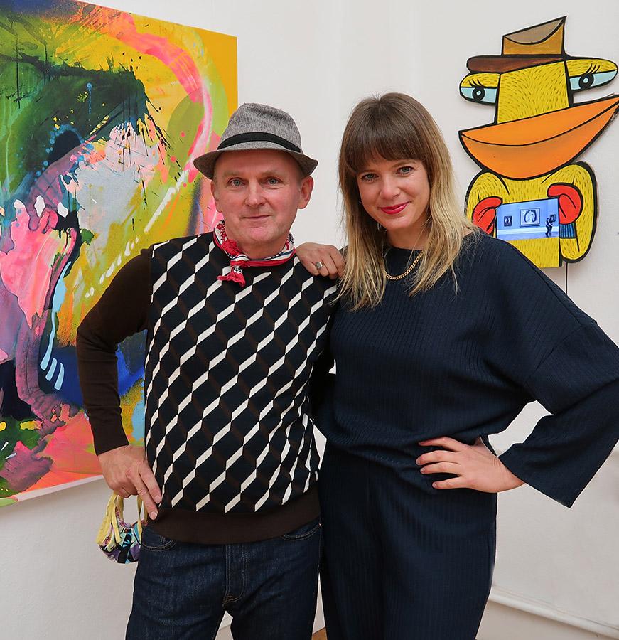 Jim Avignon & Julia Benz