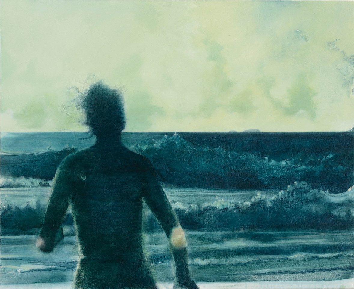 Thomas Ritz | O.T – 150 x 122 cm, 2019, Pigment, Acrylharz / Leinwand, Kat-Nr. 2019-1008