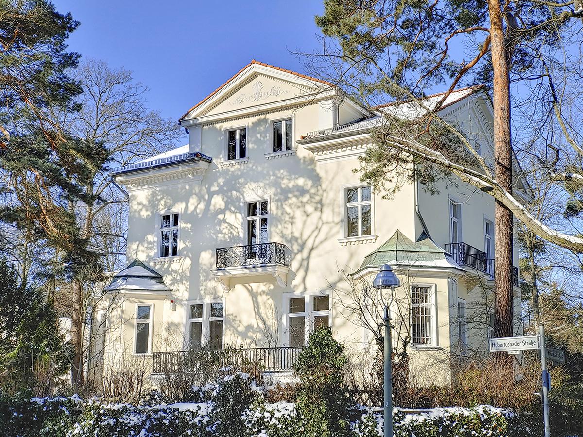 Villa Köppe – Außenansicht