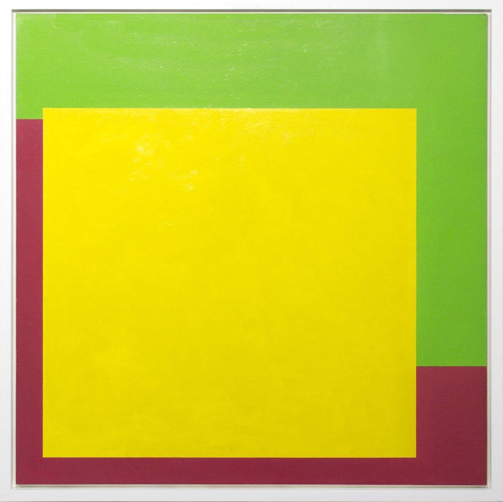 Christian Roeckenschuss - K333, 1957, 122 x 122 cm, Holz, farbig gefasst
