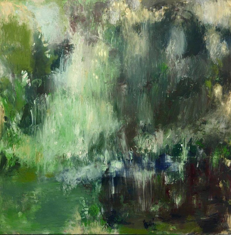 Simone Kornfeld – O.T. (Farbe Existentiell) – 200 x 200 cm, Öl/ Leinwand, 2019-2020