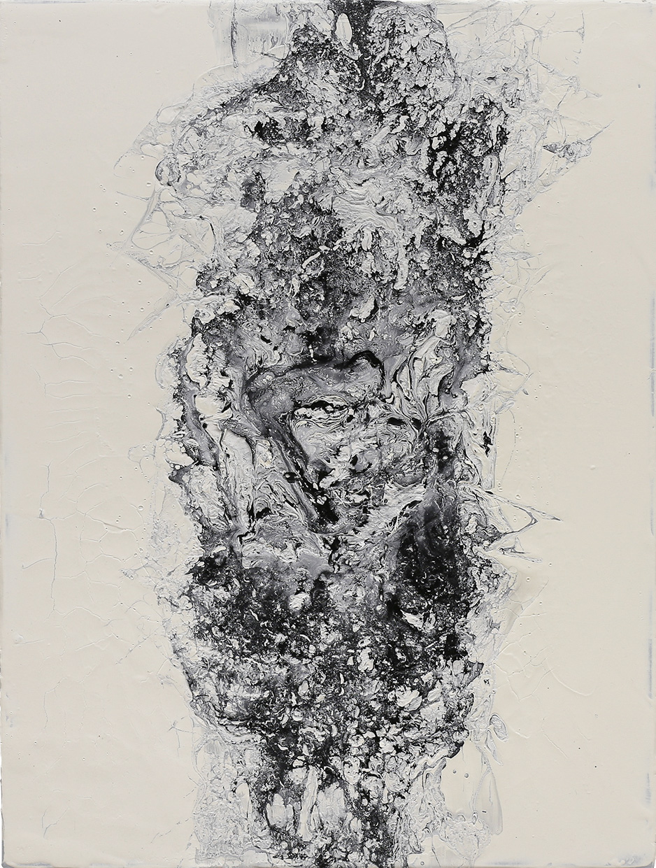 David Stegmann | O.T. – 2021, 80 x 60 cm, Acryl, Acryllack auf Leinwand - Privatsammlung