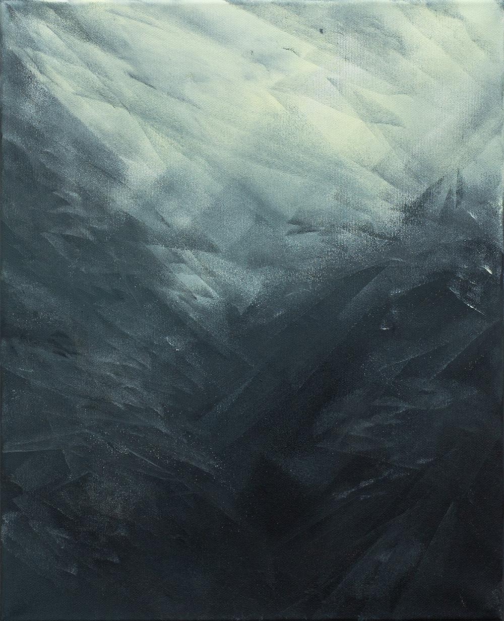 David Stegmann | O.T. – 2020, 50 x 40 cm, Acryl, Acryllack auf Leinwand