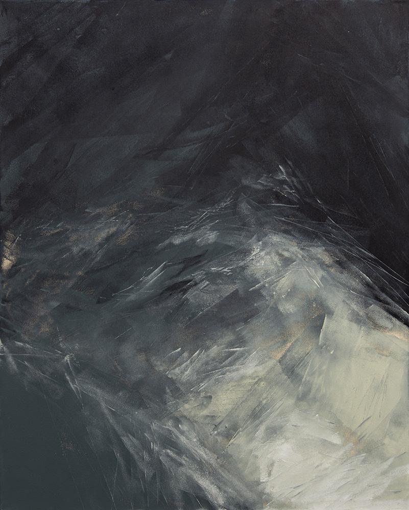 David Stegmann | O.T. – 2020, 120 x 90 cm, Acryl, Acryllack auf Leinwand - Privatsammlung