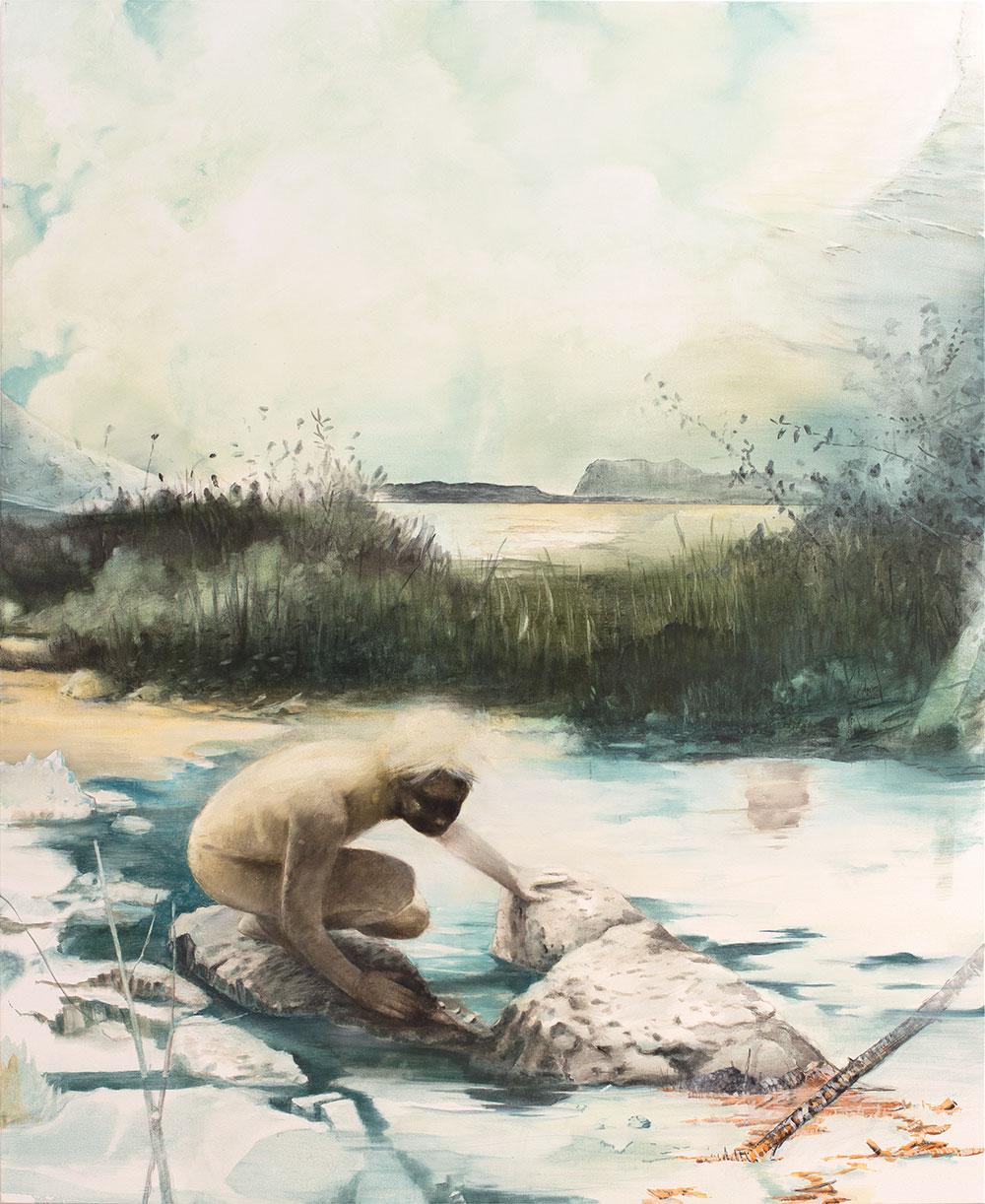 Thomas Ritz   O.T. (KatNr2020-1119), 184 x 150 cm, 2020